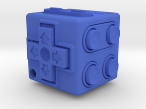 JoyCube in Blue Strong & Flexible Polished