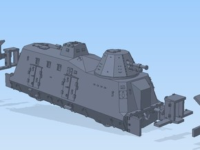 N 1-160 G-Wagen Armored Train BP-42 in Frosted Ultra Detail