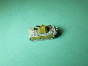 Flakpanther-Turret 4x MG151 1/285 6mm in Frosted Ultra Detail