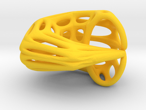 Klein Chopstick Rest (005) in Yellow Strong & Flexible Polished
