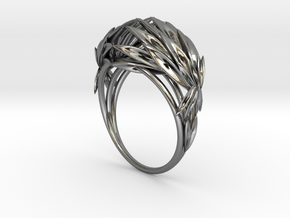 Oath Ring (Size 5.0) in Polished Silver