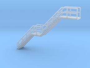 N Scale Stairs H=30.8mm in Frosted Ultra Detail