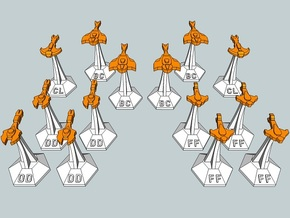 MicroFleet Cardashian Fast Attack Group (14pcs) in Frosted Ultra Detail