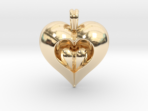 Love in 14k Gold Plated