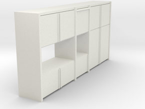 A 003 - 1 Sideboard 1 1:50 in White Strong & Flexible