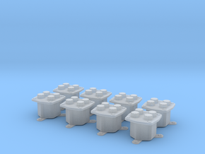 TelephoneJackBox 8pcs (repaired) in Frosted Ultra Detail