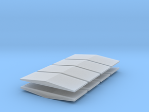 #5a V2 Ballast Car End Roofs in Frosted Extreme Detail