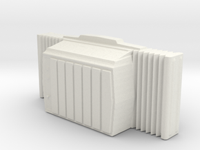 Window AC Unit - HO 87:1 Scale in White Strong & Flexible