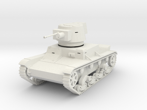 PV78 Vickers Mark E (Finnish) (1/48) in White Strong & Flexible