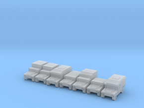 1/500 Humvee HMMWV 7 types in Frosted Ultra Detail