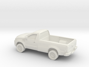 1/87 2015 Toyota Hilux Single Cab in White Strong & Flexible