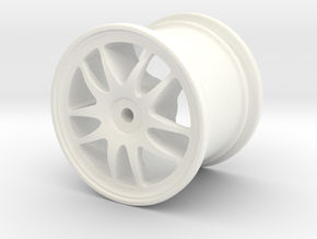 Torque-rc-02 in White Strong & Flexible Polished