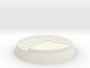 25mm Metal Flooring Base in White Strong & Flexible