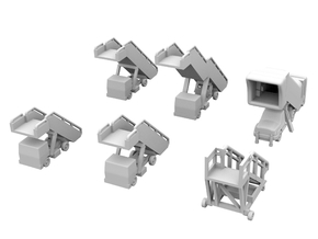 1:200 - Airstairs_v1,2,3,4,5 & 6 [x1] in Frosted Ultra Detail