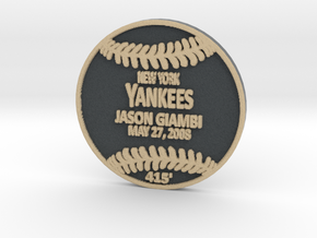 Jason Giambi2 in Full Color Sandstone