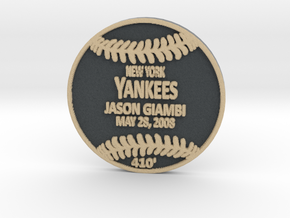 Jason Giambi3 in Full Color Sandstone