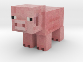Pig in Full Color Sandstone