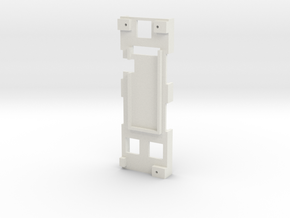 DNA200 - Mounting Plate in White Strong & Flexible
