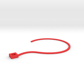 FlowerNeck in Red Strong & Flexible Polished