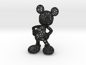 Mickey Voronoi 100mm in Black Strong & Flexible