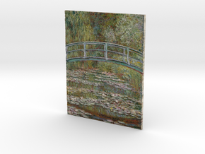 Water Lilies (Claude Monet) in Full Color Sandstone