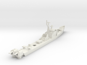 1/700 Soviet Petya Frigate in White Strong & Flexible