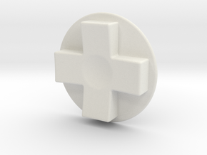Tinker: D-Pad MK6 in White Strong & Flexible