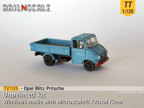 Opel Blitz A Pritsche (TT 1:120) in Frosted Ultra Detail