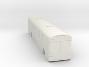 ho scale school bus 2015 international/ic re 300 in White Strong & Flexible