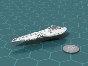Stravok Shung Battleship in White Strong & Flexible