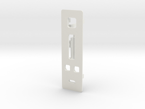 DNA200 v2 Faceplate + screen holder, no buttons in White Strong & Flexible