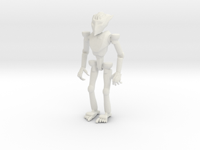 Robot Small in White Strong & Flexible