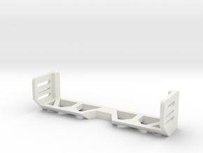 1/16 Tamiya M4 Idler Brace in White Strong & Flexible