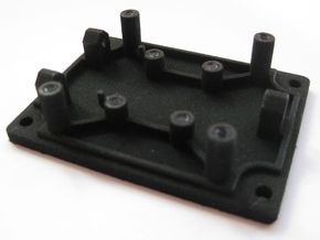 Base Part for Tinkerforge Accelerometer in Black Strong & Flexible
