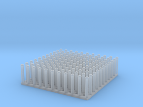 """1:24 Round Rivet Set (Size: 0.625"""") in Frosted Ultra Detail"""