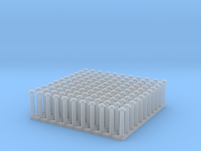 """1:24 Round Rivet Set (Size: 0.875"""") in Frosted Ultra Detail"""