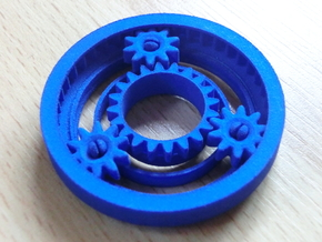 Planetary Gearing in Blue Strong & Flexible Polished