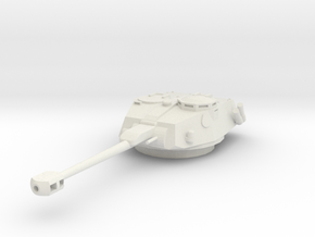 MV04B Eland/AML 90 Turret (1/48) in White Strong & Flexible
