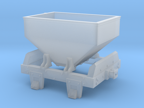 Virginia & Truckee as-built ore car (HO Scale) in Frosted Ultra Detail