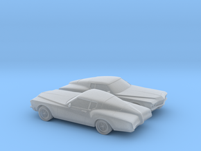 1/160 2X 1971-73 Buick Riviera in Frosted Ultra Detail