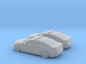1/200 2X Holden Commodore Australian Police in Frosted Ultra Detail