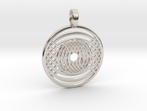 WATER GRAIL in Rhodium Plated