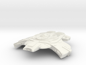 Raven Class Fast Destroyer in White Strong & Flexible