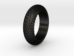 DragonBangle in Matte Black Steel