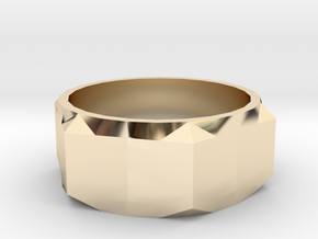 Bolt Ring (Size 5) in 14K Gold
