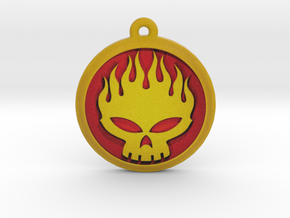The Offspring Logo Pendant / Ornament in Full Color Sandstone