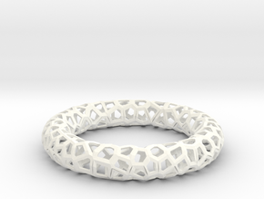 Bracelet OXO  in White Strong & Flexible Polished