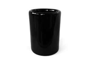 Lunar Cup in Gloss Black Porcelain