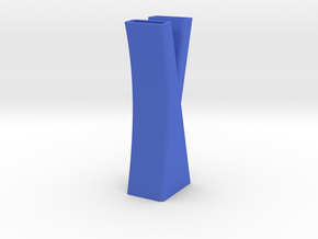 Vase 7 in Blue Strong & Flexible Polished