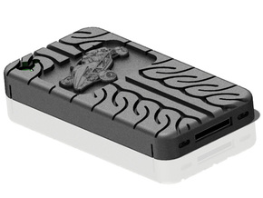 iPhone 4S Atom AD08 tread in Black Strong & Flexible